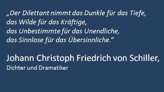 Zitat Schiller